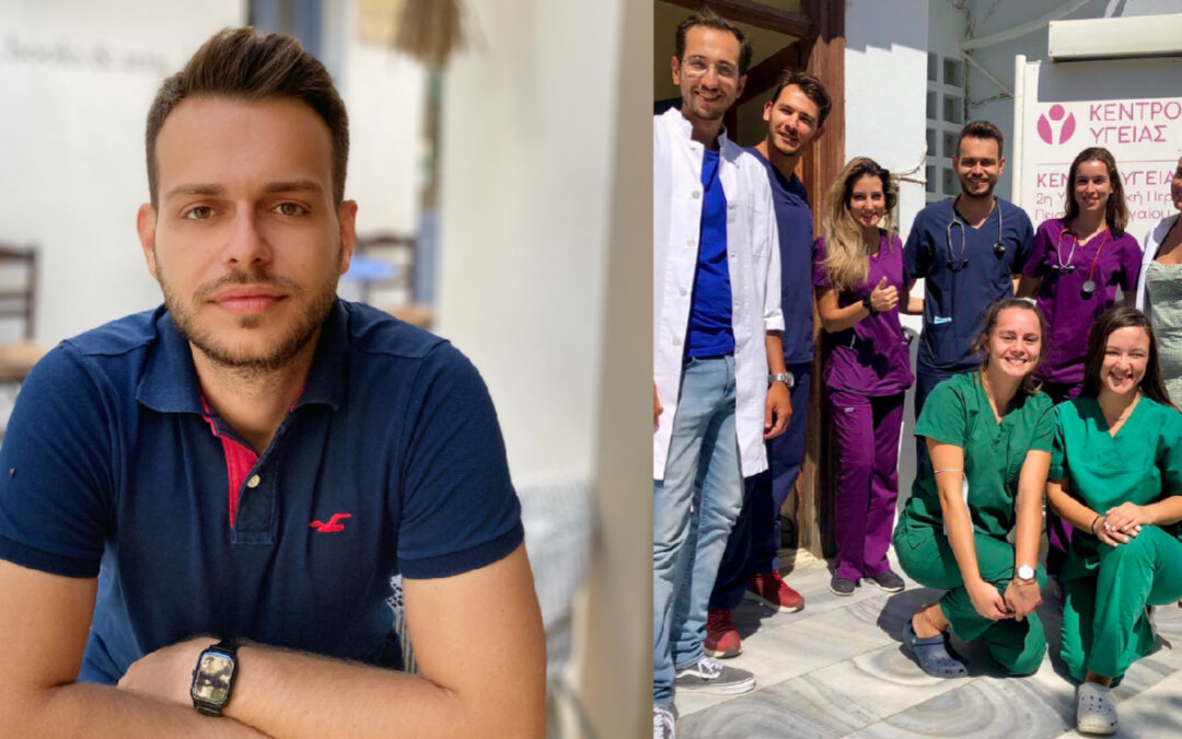 Ιατρική Απόβαση: Ο γιατρός Αναστάσης Αποστολός μιλά για την εμπειρία του στην Τήνο